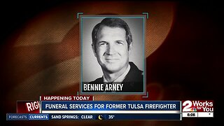 Funeral services for former Tulsa Firefighter