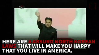4 North Korean Laws That Are Insane - Video