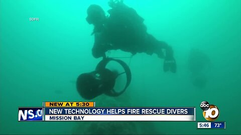 SD Fire-Rescue gifted new life-saving underwater scooters