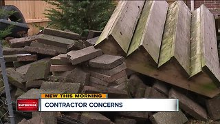 Local families dealing with contractor troubles