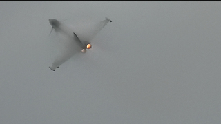 Stunning Aviation Display From The Typhoon At Blackpool Airshow