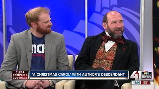 'A Christmas Carol' with author's descendant - Video