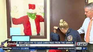 Boy calls police on The Grinch - Video
