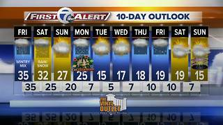 7 first alert forecast 12/22/17 - Video