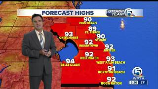 South Florida weather 8/13/17 - 6pm report - Video