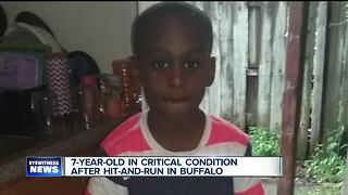7-year-old in critical condition after hit-and-run in Buffalo - Video