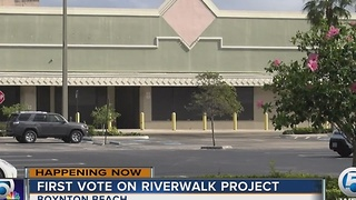 First vote on Riverwalk project - Video
