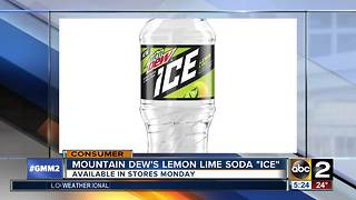 Mountain Dew's new flavor launches Monday - Video