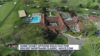 Some ticket options sold out for Rocket Mortgage Classic