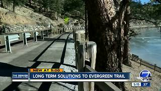 Long-term solutions to Evergreen trail - Video
