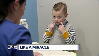 'It is just like a miracle.' Local therapy helps a non-verbal boy with autism speak