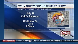 Pop-up comedy show in Tulsa