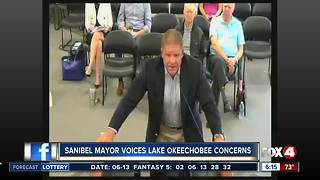 Sanibel mayor voices concerns about lake water releases