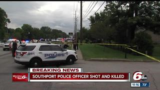 Southport police lieutenant killed in shooting - Video