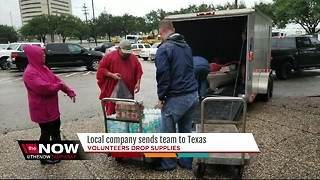Local company sends team to Texas - Video