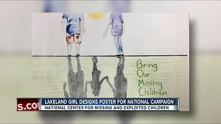 DOJ selects Lakeland girl's drawing for national missing kids campaign - Video