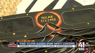 Eudora Schools given counterfeit eclipse glasses - Video