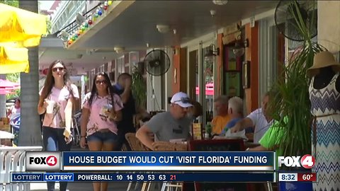 House Budget would cut 'Visit Florida' Funding