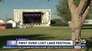 Phoenix music festival — Lost Lakes — kicks off tomorrow! - Video