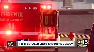 Man shoots, kills brother after dispute in Phoenix - Video