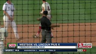 Westside wins opener at state legion baseball tournament