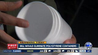 Bill would ban polystrene containers