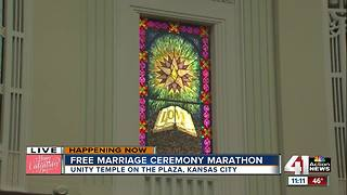 Free marriage ceremony marathon happening at Unity Temple