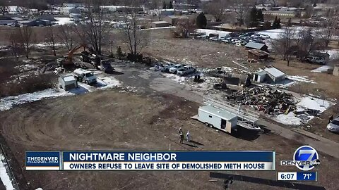 Homeless encampment at site of demolished Loveland home raises concerns for neighbors