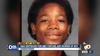 Man sentenced for 1987 torture and murder of boy - Video