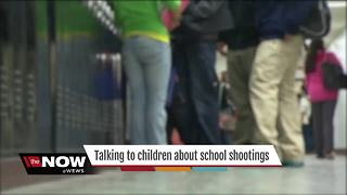 Talking to children about school shootings - Video