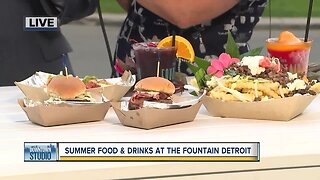 Summer food and drinks at the Foundation Detroit