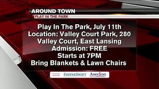 Around Town 7/10/17: Play in the Park - Video
