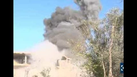 Islamic State Bomb Explodes Beside Journalists Near Deir Ezzor