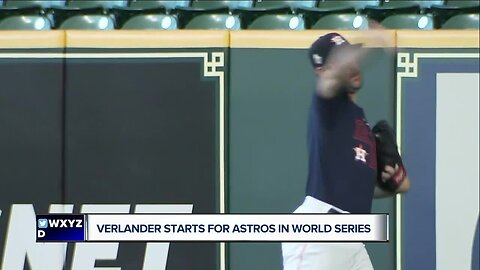 Justin Verlander says experience is key to calming nerves in World Series