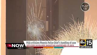 Phoenix police union upset at ruling in 2015 officer-involved shooting - Video