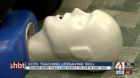 'You have power to save a life right here in your hands': KCFD focuses on CPR training