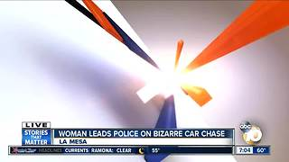 Bizarre chase ends - Video