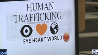 NWTC program raises awareness of human trafficking - Video