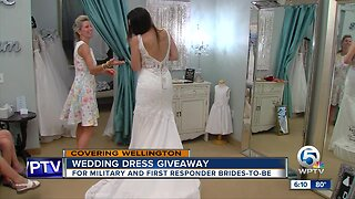 Wedding gown giveaway