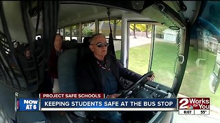 Keeping students safe at the bus stop - Video