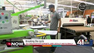 Local T-shirt purchase creates global purpose - Video
