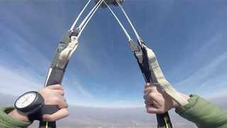 Skydiving Through the Eyes of a Paratrooper - Video