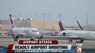 Fort Lauderdale Airport Shooting SWFL Ties - Video
