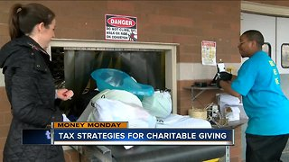 Money Monday: Tax strategies for charitable giving