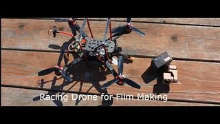 Racing Drones Elevate Aerial Photography - Video