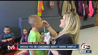 Concerns about Tamiflu have parents wondering if they should give it to their kids