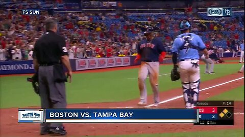Boston Red Sox beat AL East-leading Tampa Bay Rays 4-3 in 11 to finish sweep