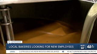Local bakeries looking for new employees