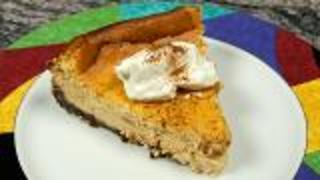 Sweet Potato Bourbon Cheesecake - Video