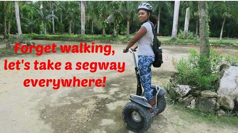 Forget walking, let's take a segway everywhere!